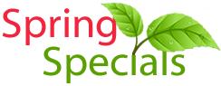 Spring Specials 2015